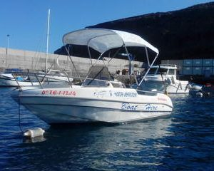 4-hour Boat Rental in La Gomera with licence required