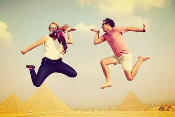 Explore the pyramids of Ancient Egypt all in one-day tour with private guide and lunch included