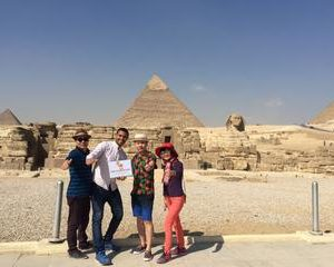 Giza Pyramids Private guided Cairo half day tour