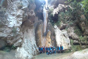 Guided Canyoning in Granada: Lentegi Canyon