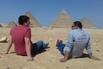 Layover Tours from Cairo airport Giza Pyramids Sphinx Memphis and Saqqara