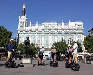 Madrid Highlights Guided Segway Tour