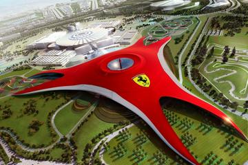 Abu Dhabi City Tour with Ferrari World and Grand Mosque from Dubai