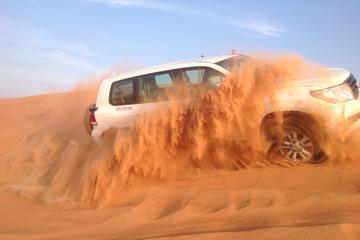 Best Dubai Desert Safari-Dune Bashing & Camel Riding with BBQ & Belly Dance Show
