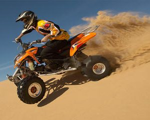 Dubai 30 mins Quad Bike with Evening Safari and Abu Dubai City Tour
