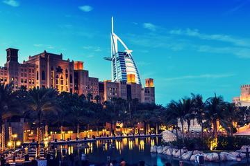 Dubai: Magical Tour with Burj Al Arab Lunch, Burj Khalifa & Aquarium Ticket