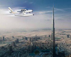 Dubai Seaplane Flight from Abu Dhabi with Burj Khalifa ticket and Transfer
