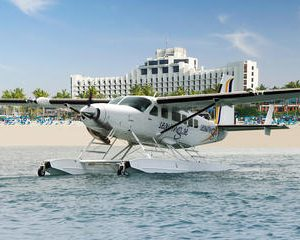 Dubai Sunrise Seaplane Flight Including Dubai Creek Abra Boat Ride and City Sightseeing