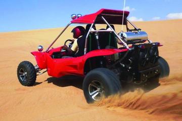 Exciting Dubai Dune Buggy Safari & Sand Boarding & BBQ Dinner & Belly Dance Show