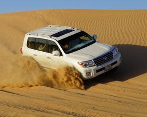 Exhilarating Desert Safari Including BBQ Dinner from Dubai