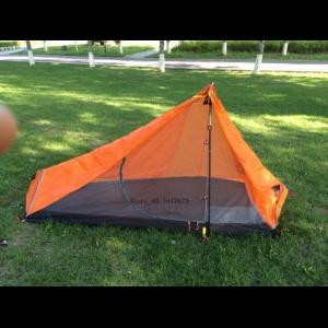 3F UL Gear 15D Silnylon Hybrid Solo Trekking Pole Tent + footprint